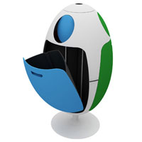 Ovetto recycle bin