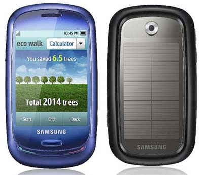 Samsung Blue Earth - First Solar Powered mobile phone